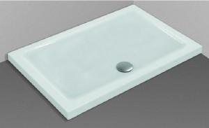 Piatto doccia rettangolare per installazione sopra o filo - Installazione piatto doccia filo pavimento ...