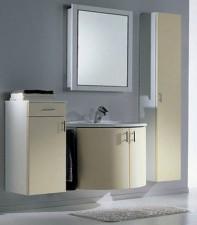 Mobile lavatoio sospeso struttura in nobilitato - Montegrappa mobili bagno ...