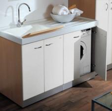 Idem per inserimento lavatrice a destra con cesto - Montegrappa mobili bagno ...
