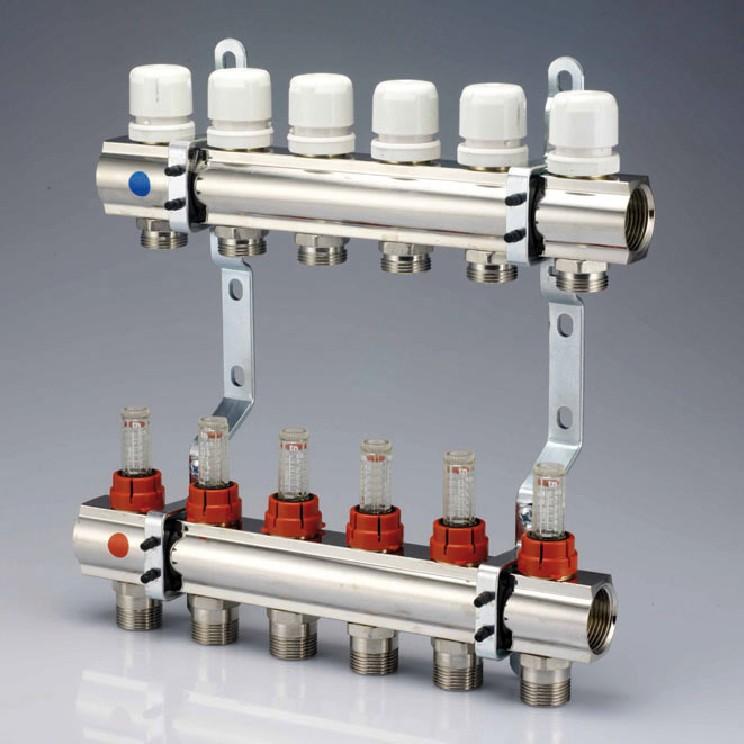 Gielle gl7410415 valvole per radiatori e collettori per impianti di riscaldamento collettori - Collettori per riscaldamento a pavimento ...