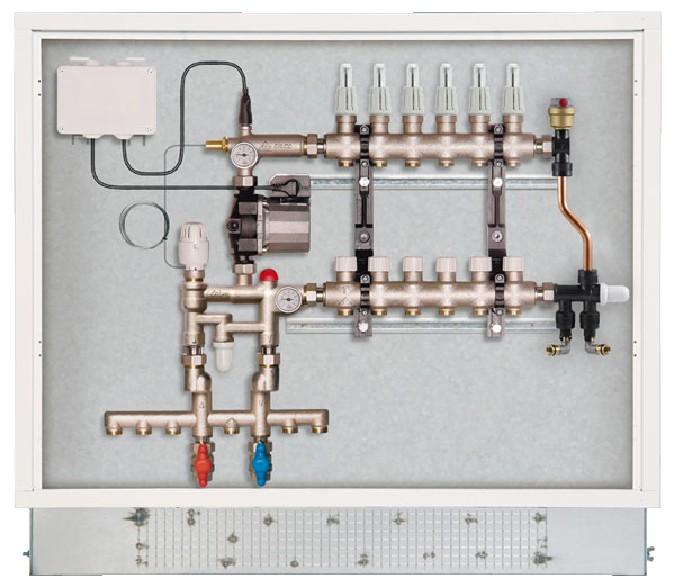 Rbm 07820660 riscaldamento a pavimento - Collettori per riscaldamento a pavimento ...