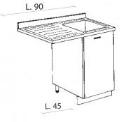 Mobile Cucina Con Lavello E Lavastoviglie.Mobili Cucina Montegrappa